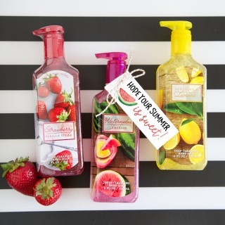Summer Hand Soap Gift Tags