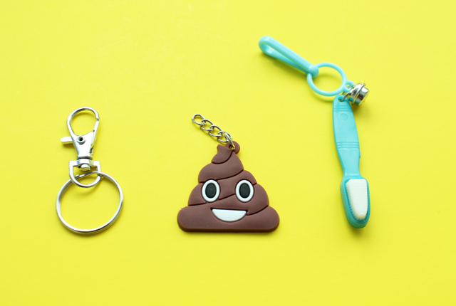 making emoji charm