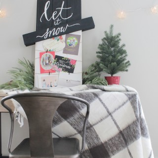 Christmas Card Display Tutorial