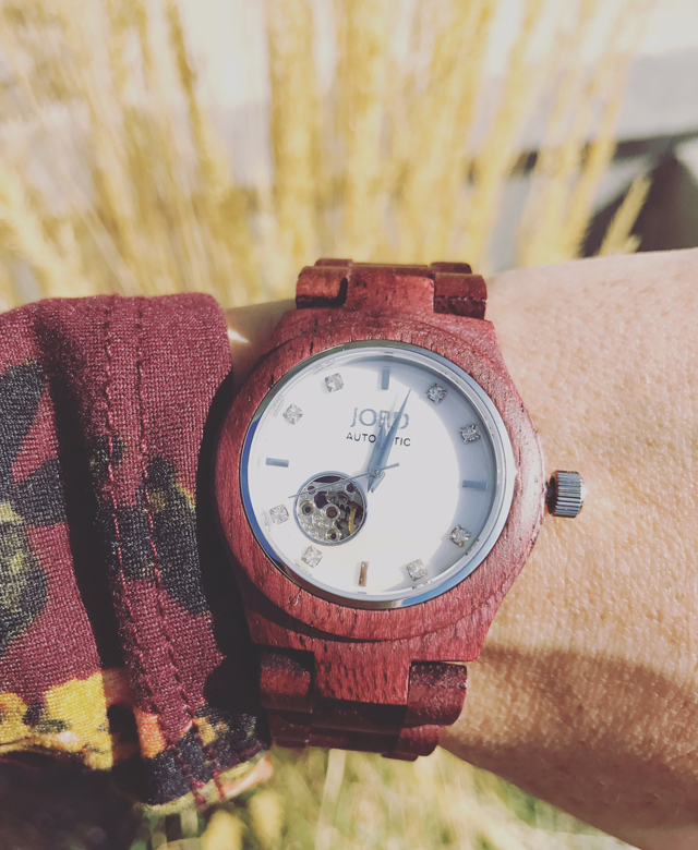 Cora Purpleheart watch