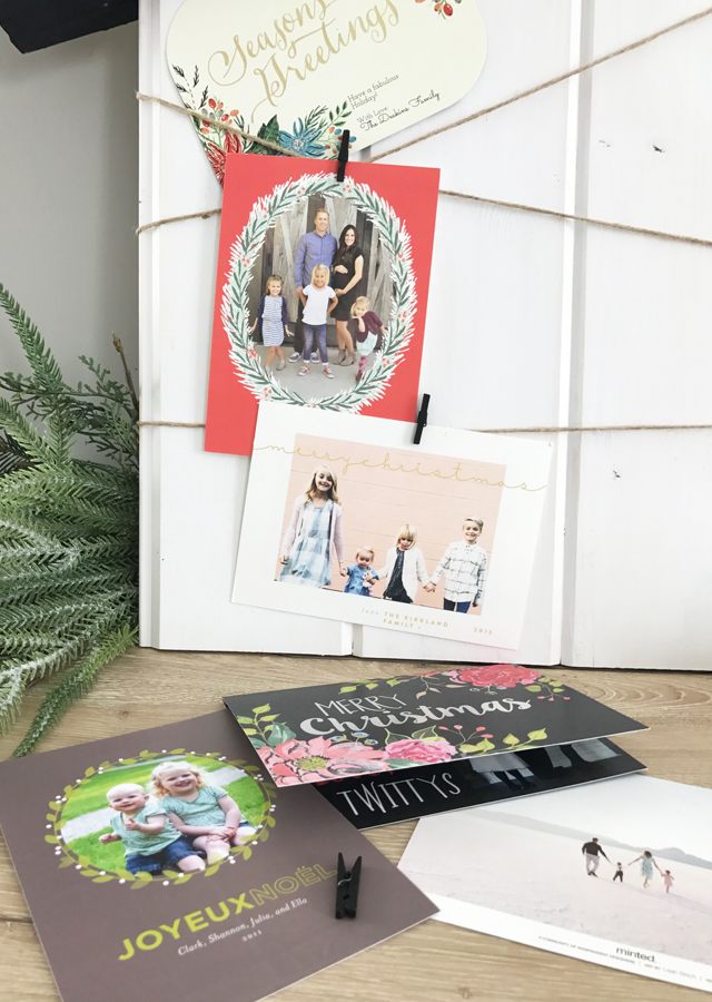 hanging-up-christmas-cards