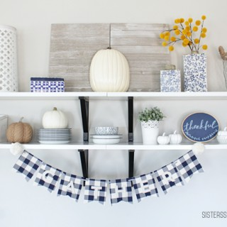 Modern Farmhouse Thanksgiving Decor