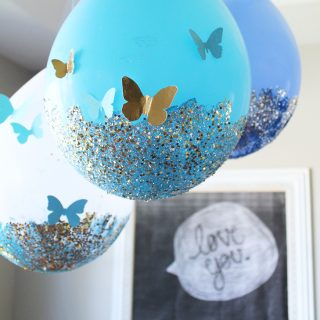 Glitter Balloon Tutorial
