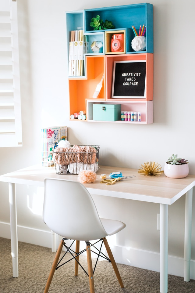 ... And We Are Celebrating By Showing You Our Craft Rooms Or Other Spaces  In Our Homes Where We Create Beautiful Things! Here Is My New Mobile Craft  Space: