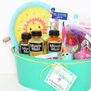 Create this Summer Survival kit for a special mom in your life