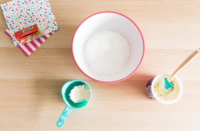 2 ingredient ice cream playdough