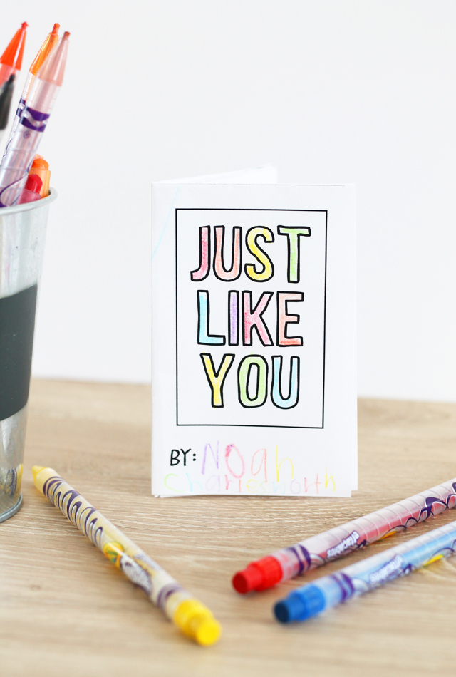Just Like You book printable