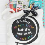 Teacher gift idea and About ME printable