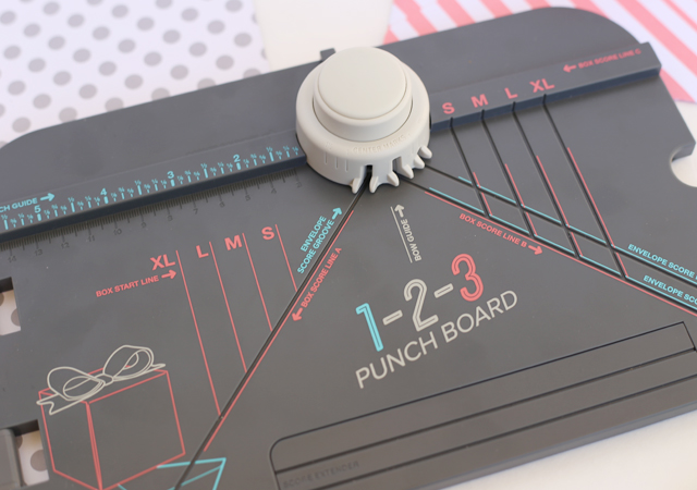 Envelope Birthday Book with 1-2-3 Punch Board