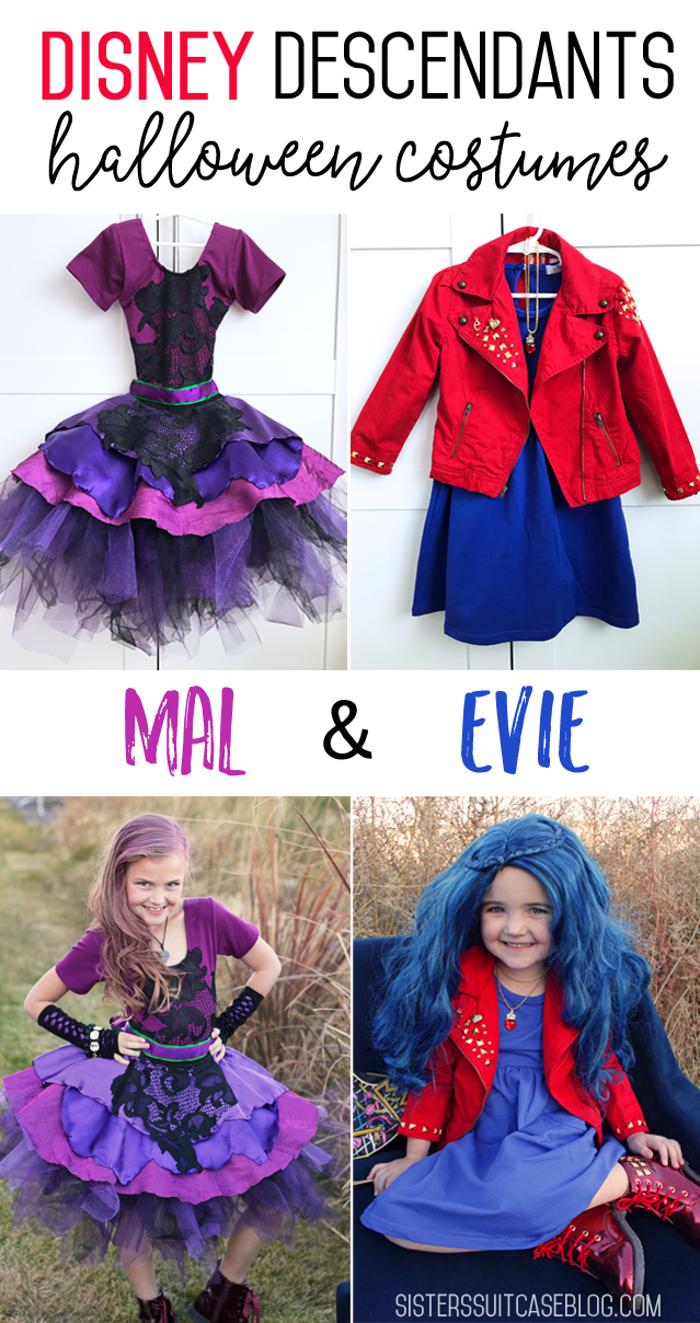 disney descendants mal and evie costumes
