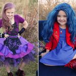 Mal and Evie Halloween Costumes