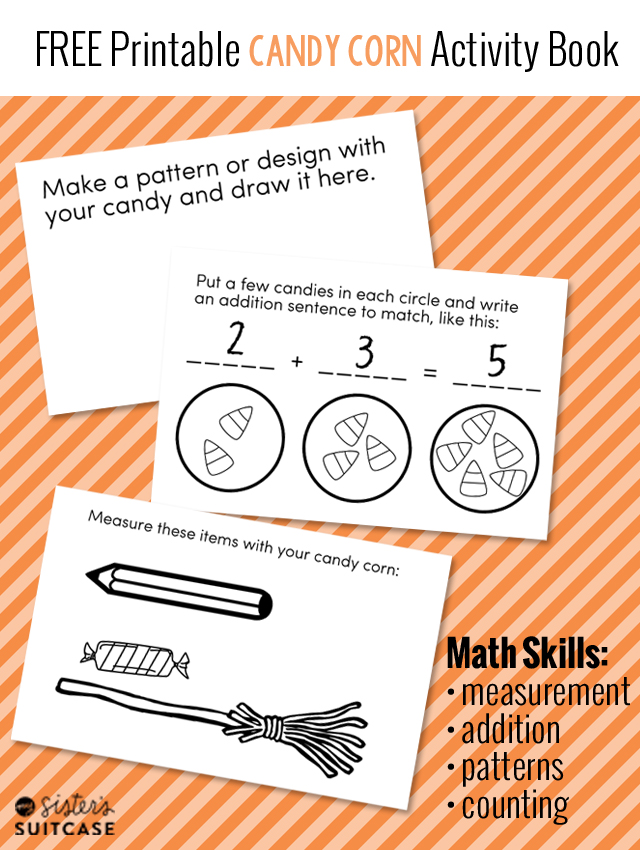 Printable Candy Corn Math Activities