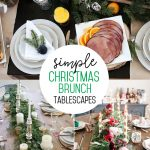 Christmas Brunch tablescape ideas