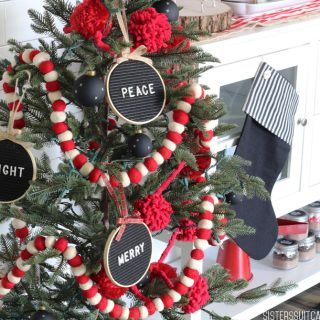 Letter Board Christmas Ornaments