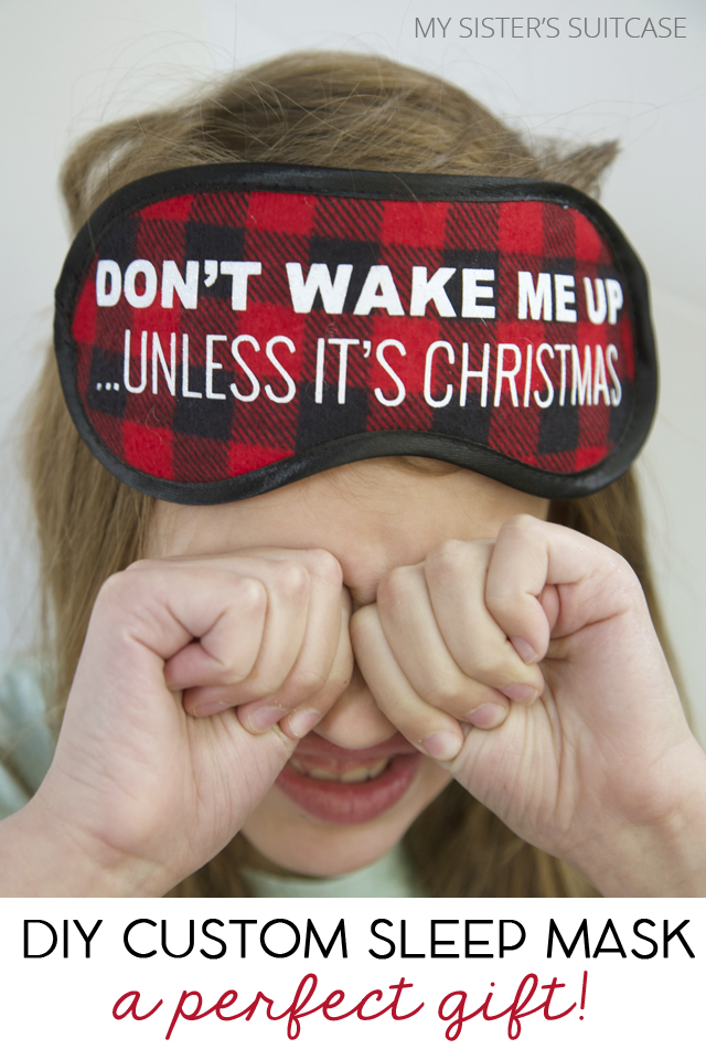 give the gift of relaxation with a custom sleep mask an easy personalized christmas gift idea