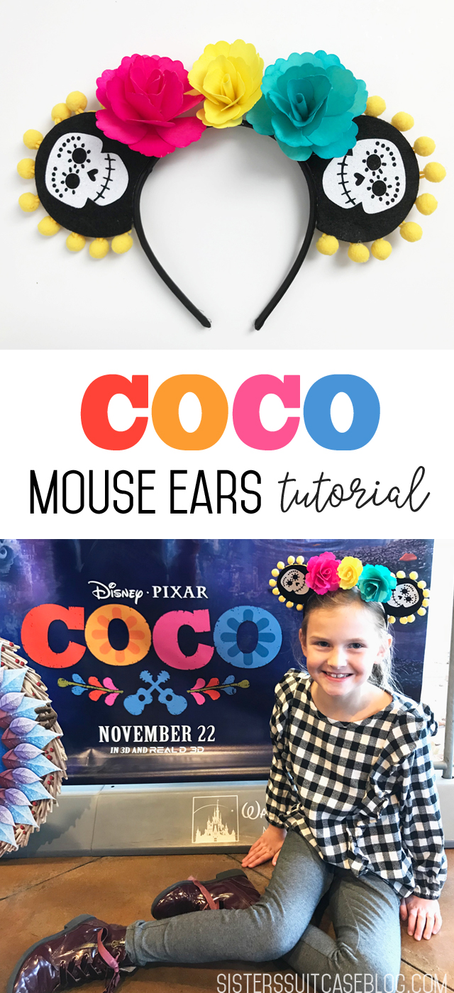Coco Mouse Ears tutorial