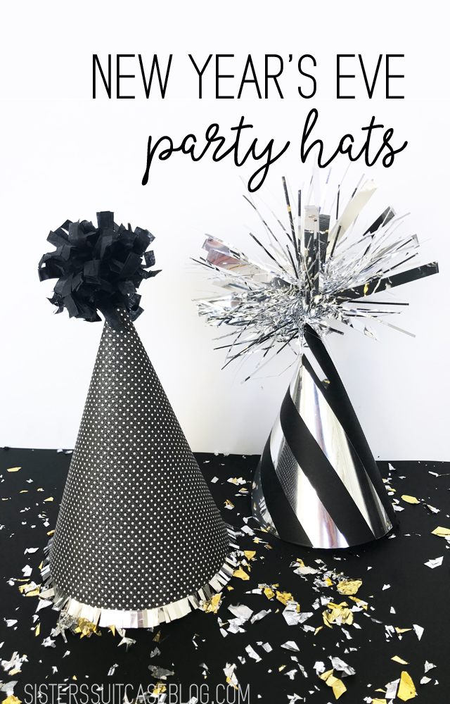 Make Your Own New Years Eve party hats