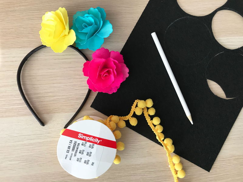 materials for COCO mouse ears