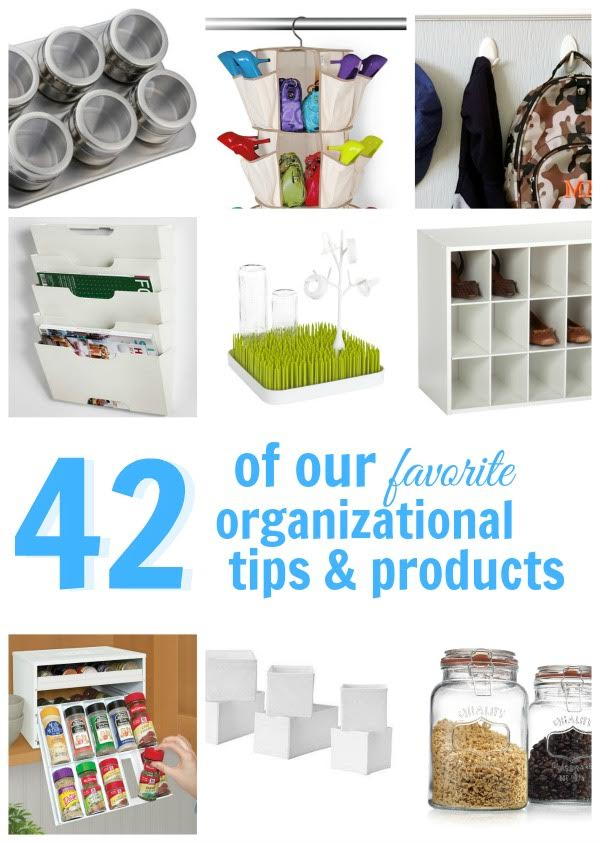 42 Ways to Get Organized