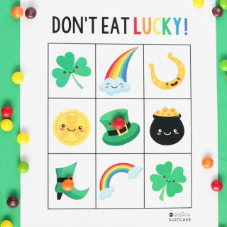 St. Patrick's Day Printable Game: Don't Eat Lucky!