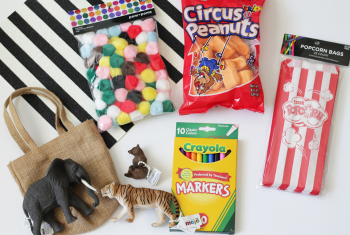 Basket filler ideas_circus