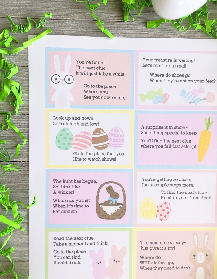 photograph about Printable Scavenger Hunt called Easter Scavenger Hunt Printable - My Sisters Suitcase