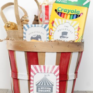 Greatest Showman Easter Basket DIY
