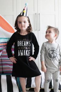 Greatest Showman pajamas with Cricut Patterned Iron On