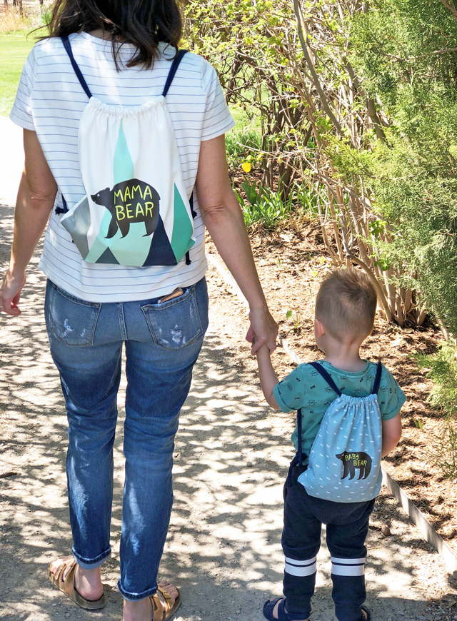 Mom and Me backpacks