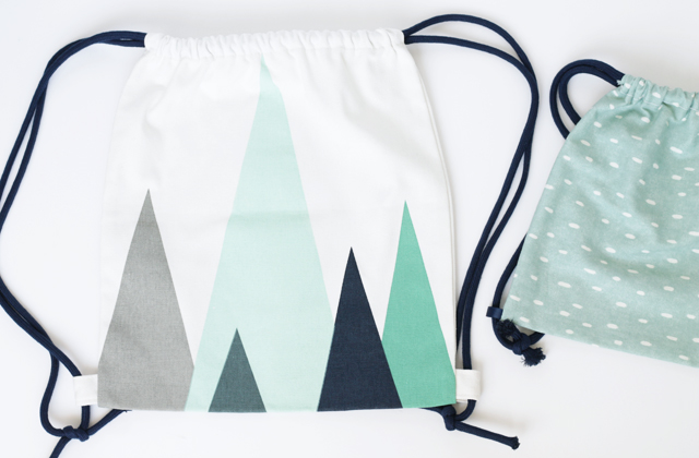 canvas drawstring backpack
