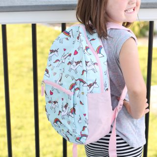 Back to School Unicorn Backpack DIY