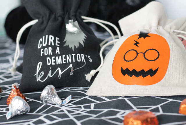 Halloween Harry Potter party favors