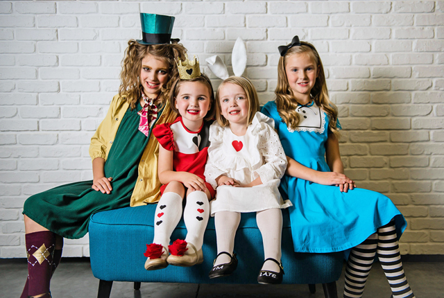 Alice in Wonderland group costumes