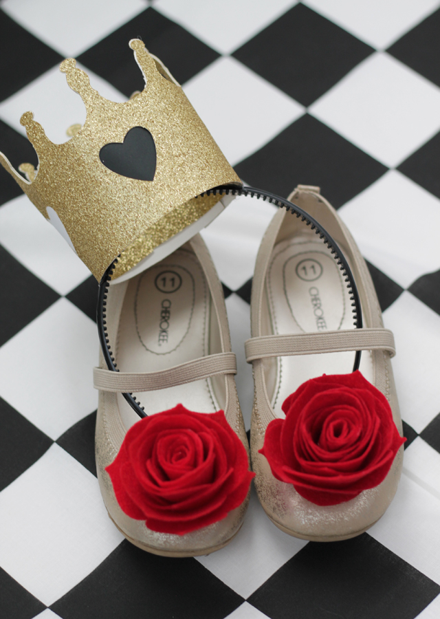 Finished crown and shoes