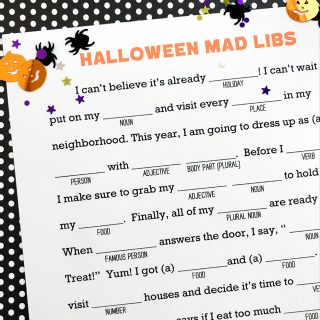 photograph relating to Halloween Mad Libs Printable Free called Printables Archives - My Sisters Suitcase - Packed with