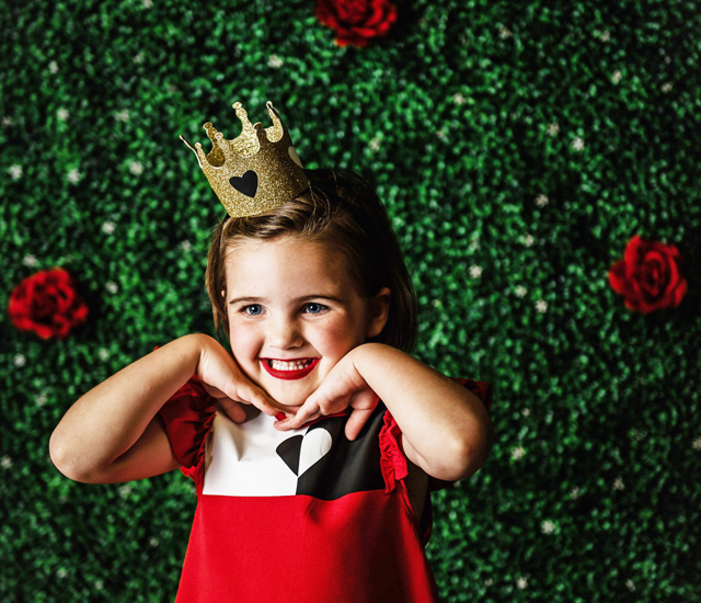 queen of hearts handmade costume