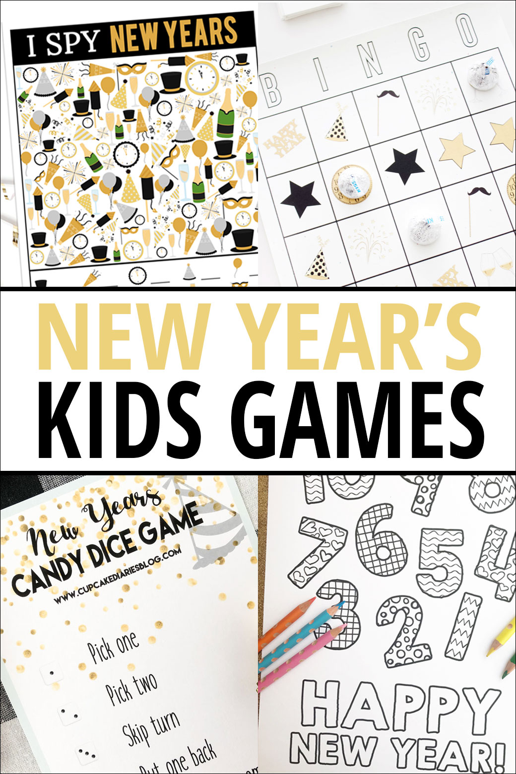Three other printable activities you can use this new years be sure to check out each printable and get them ready now so youre prepared to party on