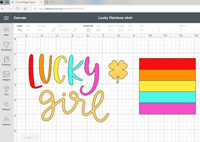 Lucky Girl design