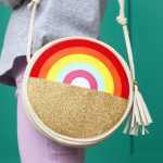 Rainbow Pot of Gold Purse_Cricut