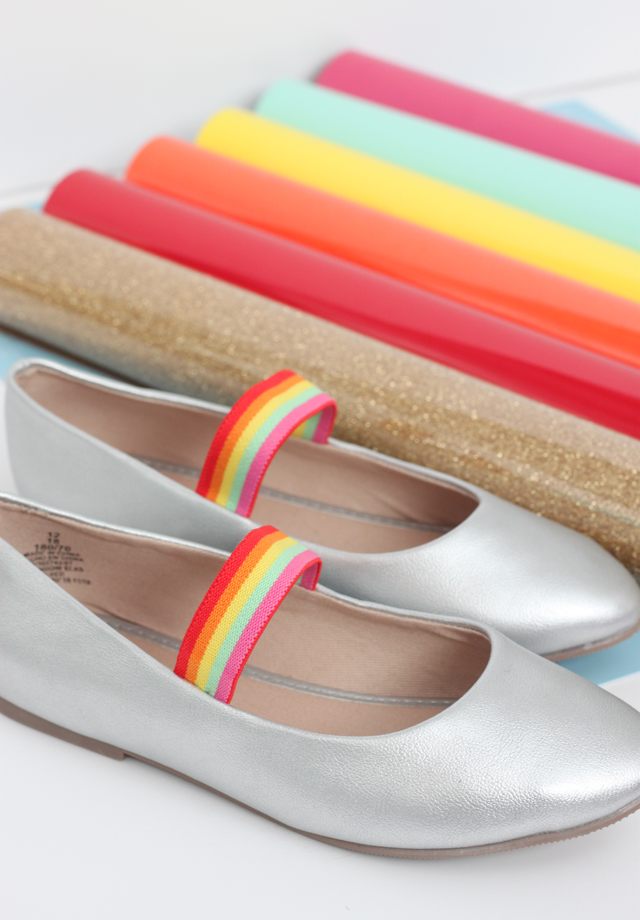 shoe inspiration for rainbow colors