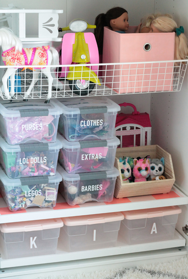 Kids Toy Organization ideas